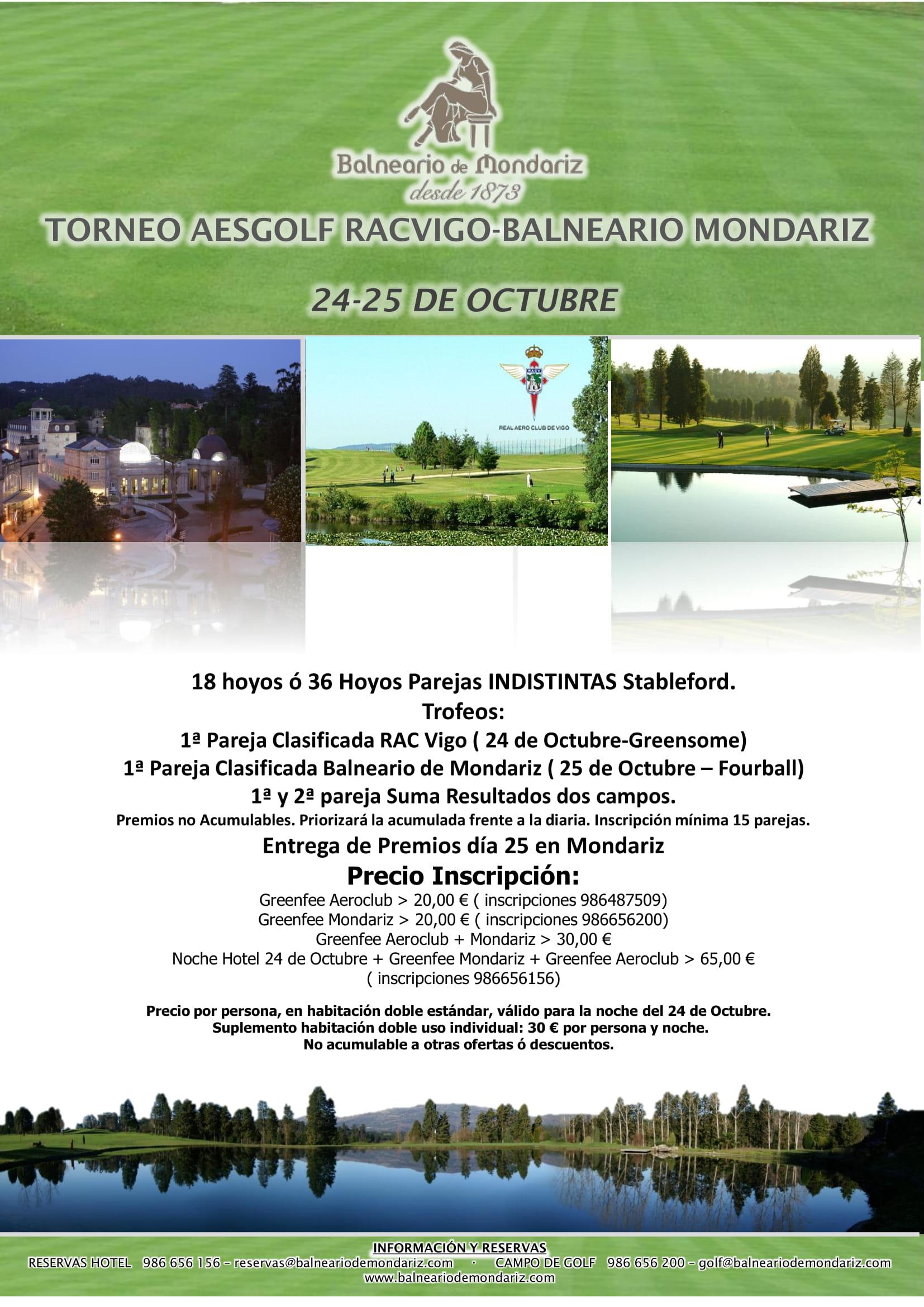 CIRCUITO SENIOR RACVIGO - BALNEARIO MONDARIZ 2019
